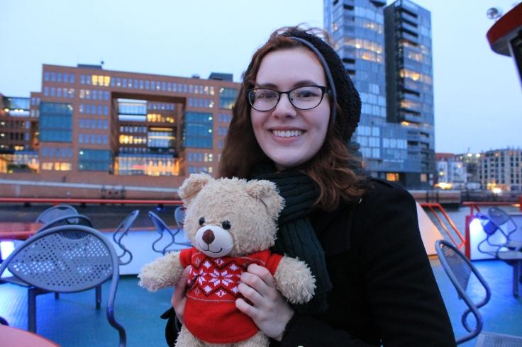 Pierre my teddy bear, NOT a real bear :-) (Hamburg, Germany, 2016)